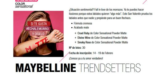 Prueba gratis Color Sensational de Maybelline