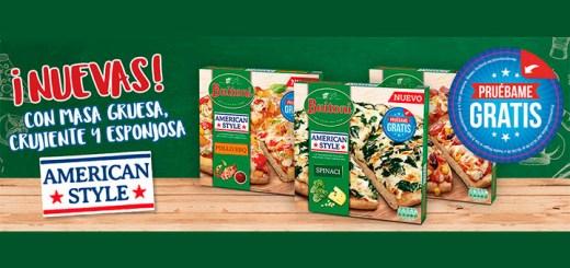 Prueba gratis Pizzas American Style de Buitoni
