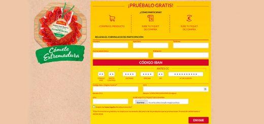 Prueba gratis Plato Jamón Extremadura de Argal