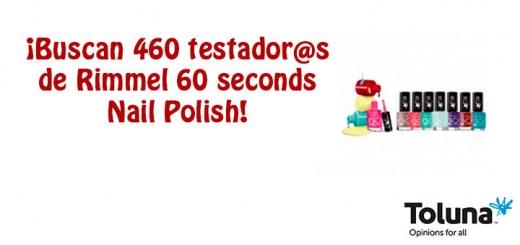 Prueba gratis Rimmel 60 seconds Nail Polish
