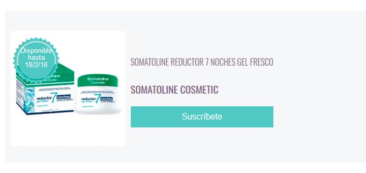 Prueba gratis Somatoline Cosmetic