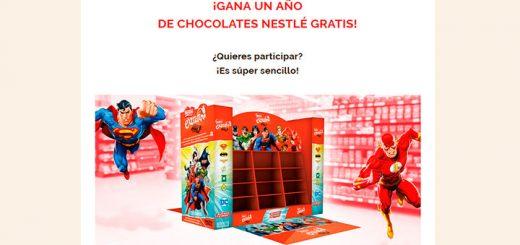 Gana un año de chocolates Nestlé gratis
