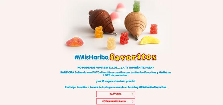 Gana un lote de productos Haribo