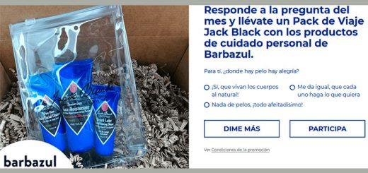 Llévate un pack de viaje Jack Black con Control