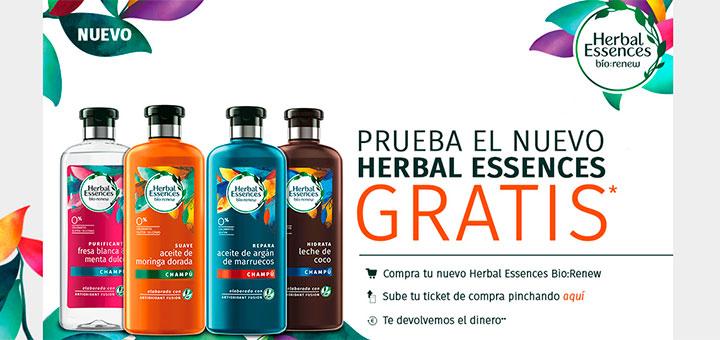 Prueba gratis el nuevo Herbal Essences