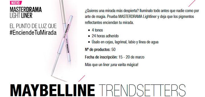 Prueba gratis Masterdrama Light Liner con Maybelline