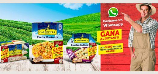 Reparten 3.000 lotes de productos Carretilla
