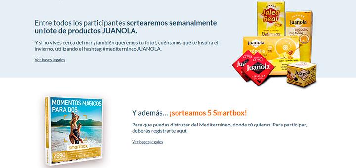 Sortean cada semana un lote de productos Juanola