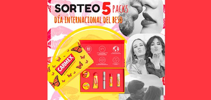 Carmex regala 5 packs Edición Especial Mariposa 2018