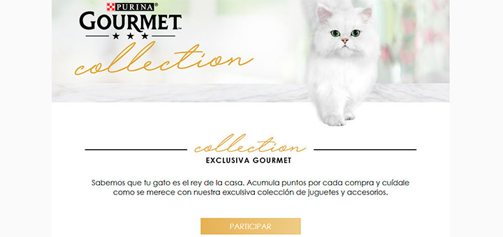 Consigue regalos exclusivos para gatos con Purina