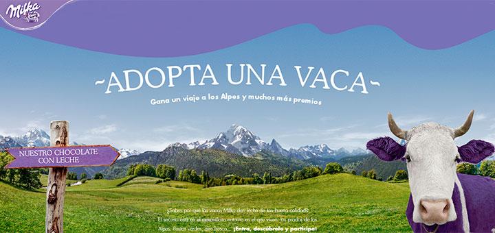 Gana un viaje a los Alpes con Milka