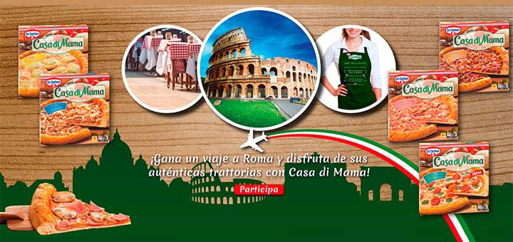 Gana un viaje a Roma con Casa di Mama