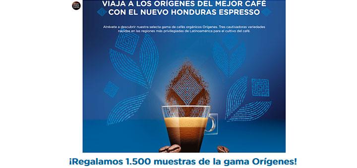 Muestras gratis del nuevo Honduras Espresso