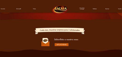 Chocolates Lacasa reparte muestras sorpresa