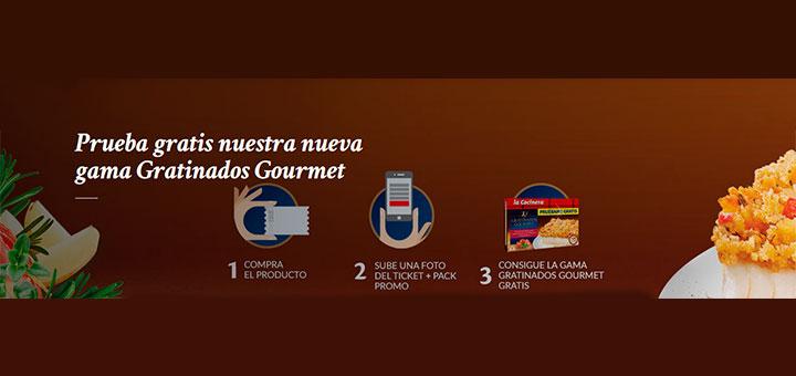 Dan a probar gratis la nueva gama Gratinados Gourmet de La Cocinera