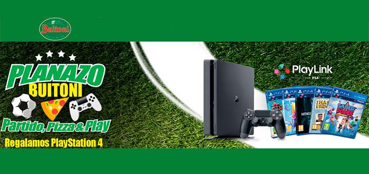 Gana Una Playstation 4 Y Un Pack De Juegos Con Buitoni Muestras Gratis