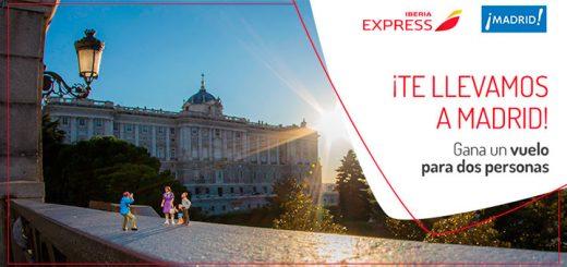 Iberia Express sortea 1 vuelo a Madrid