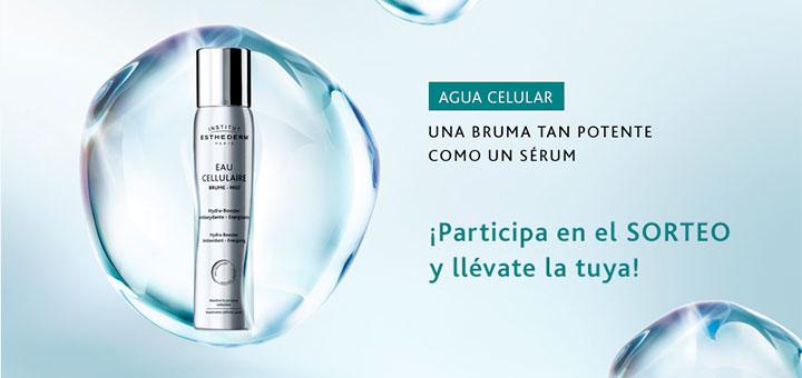 Institut Esthederm sortea 20 Brumas Agua Celular