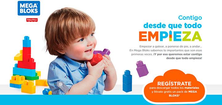 Llévate gratis un pack de Mega Bloks