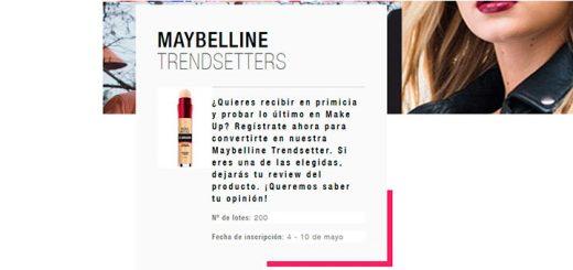 Maybelline da a probar gratis su nuevo Borrador Corrector