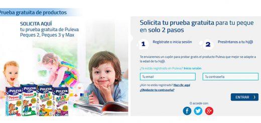 Prueba gratis leches infantiles Puleva