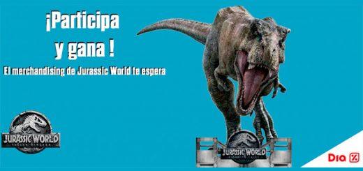 Consigue un frisbee y gorra de Jurassic World con Día