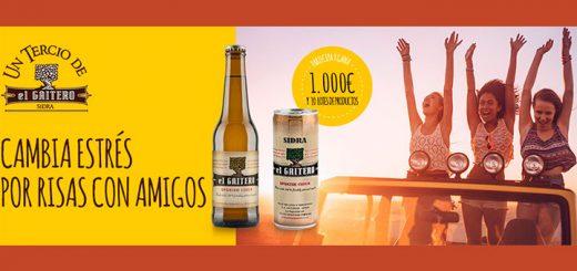 Gana 1.000€ y 10 lotes de productos El Gaitero