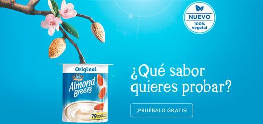 "Gana un pack de Almond Breeze ""alternativa al yogur"""