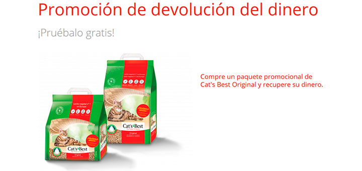 Prueba gratis Cat's Best Original