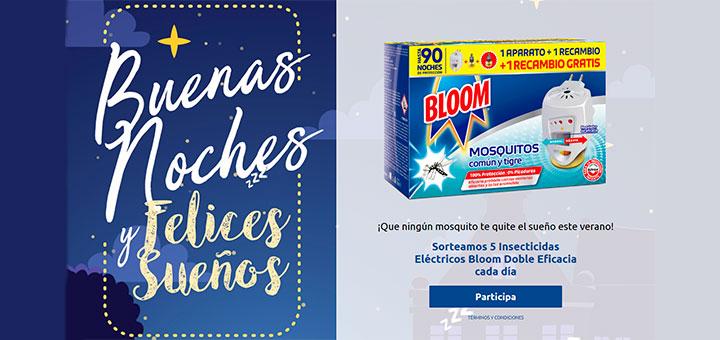 Sortean 5 Insecticidas Eléctricos Bloom Doble Eficacia cada día