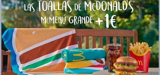 Llegan las toallas de McDonald's este verano