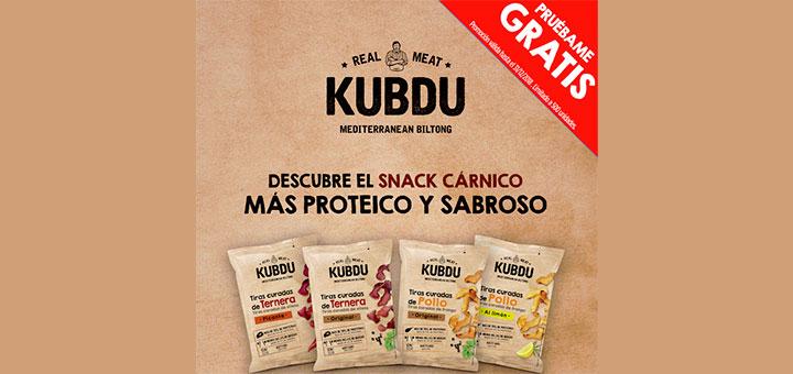 Prueba gratis productos Kubdu