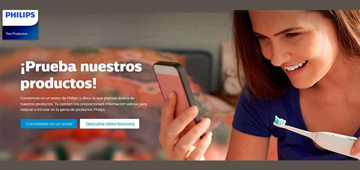 Prueba gratis productos Philips