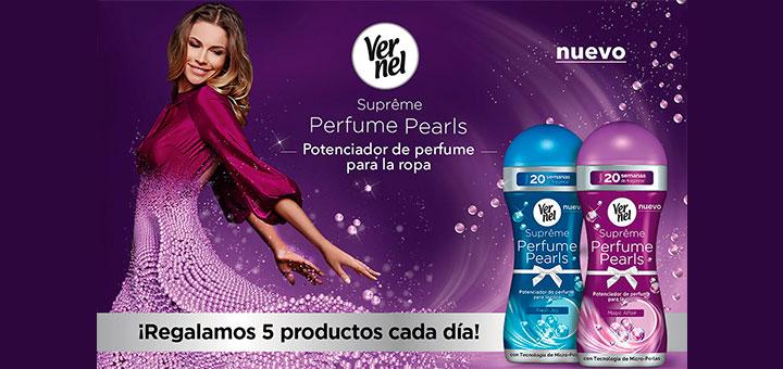 Regalan 5 productos Vernel Suprême Perfume Pearls cada día