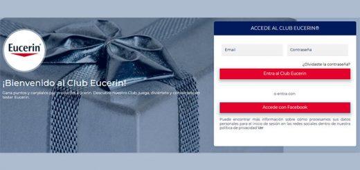 Consigue gratis productos Eucerin