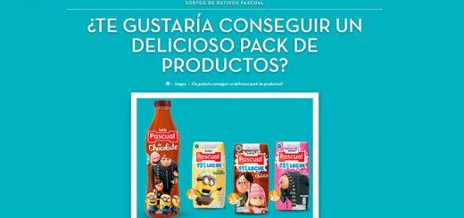 Consigue un pack de productos Pascual