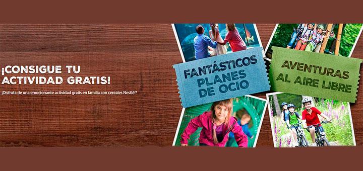 Consigue una actividad gratis con cereales Nestlé