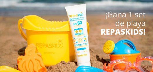 Gana 1 set de playa Repaskids