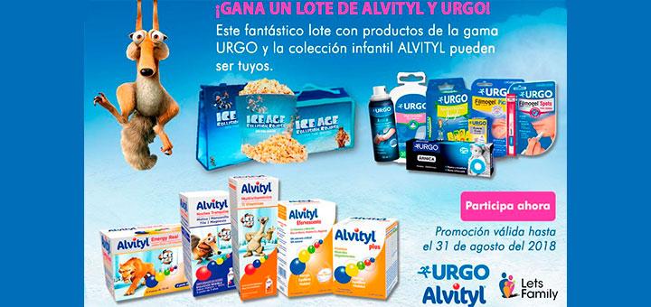 Gana un lote de Alvityl y Urgo con Lets Family