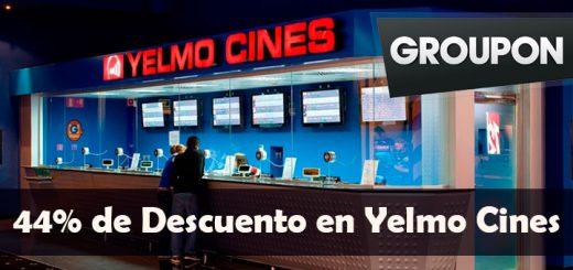 Hasta un 44 de descuento en Yelmo Cines con Groupon