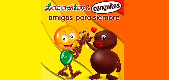 Sortean 3 megalotes de la amistad de Lacasitos & Conguitos