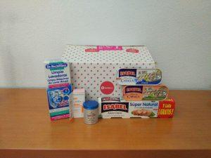 Caja Testabox Agosto productos seleccionables