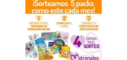 TodoPapás sortea 5 packs de productos para bebés cada mes