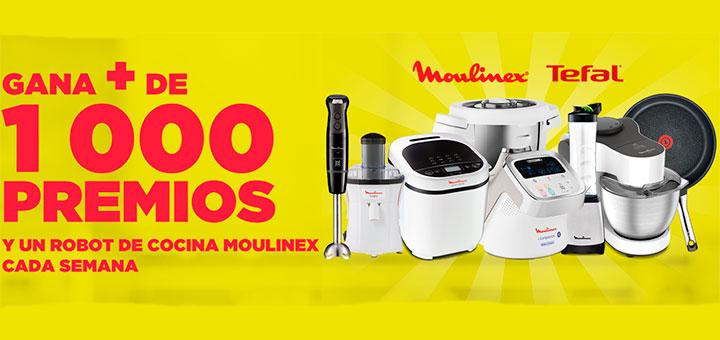 Vileda reparte más de 1.000 premios y un robot de cocina Moulinex cada semana