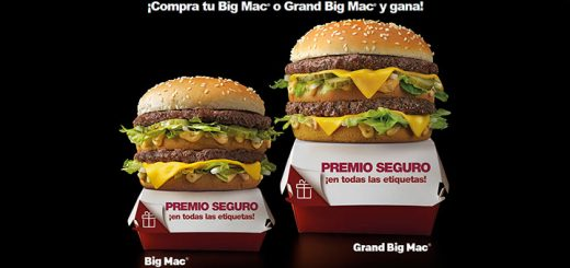 Consigue premio seguro con McDonald's