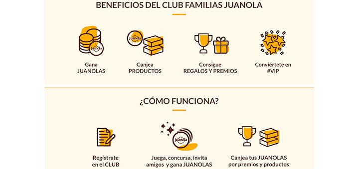 Consigue premios con Club de Familias Juanola