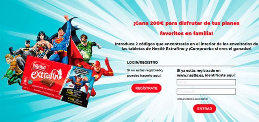 Gana 200€ con Nestlé Extrafino