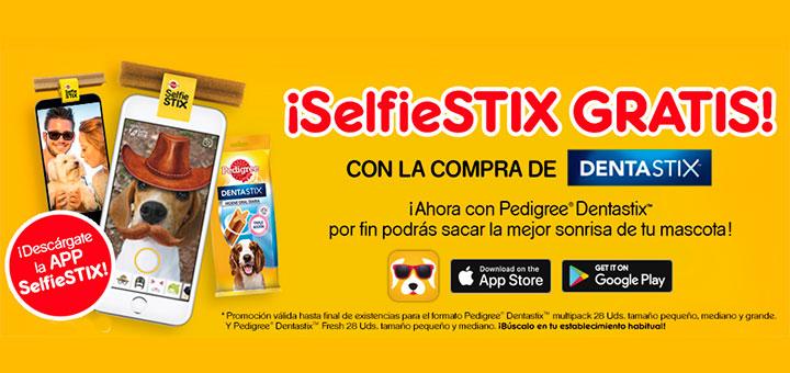 Llévate gratis un SelfieStix con Pedigree