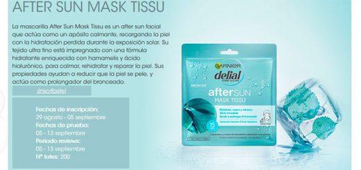 Prueba gratis After Sun Mask Tissu