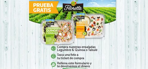 Prueba gratis Ensaladas Legumbre & Quinoa o Tabulé Florette